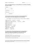 Avancemos I preliminary lesson quiz: basic conversations
