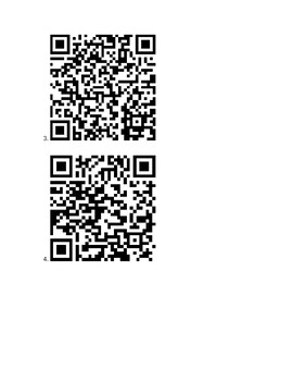 Avancemos IV U2L1 Vocab QR Code Scavenger Hunt