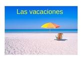 Avancemos Level 2, Chapter 1.2 Vocabulary Powerpoint: Las vacaciones