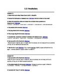 Avancemos 1 Unit 5 Lesson 2 Vocabulary Internet Lesson