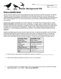 Avatar Project- Scientific Names Warm Up / Background Worksheet