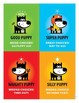 Behavior Referee Cards . Child Behavioral & Emotional Tools by GOOD PUPPY