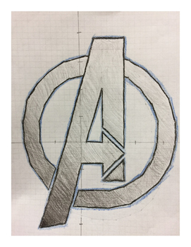 avenger logo coordinate drawing by coordinate drawing store tpt