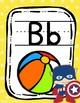 Superhero Avengers Alphabet