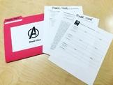 Avengers Assemble! Review Activity