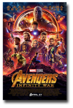 Avengers Infinity War Movie Guide Questions in ENGLISH