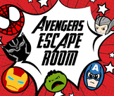 Avengers Math Escape Room