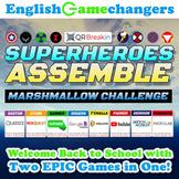Superheroes Meet The Marshmallow Challenge: Growth Mindset