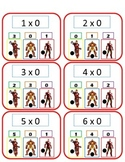 Avengers Multiplication - Poke Math Cards