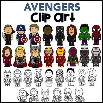 Clip Art - AVENGERS