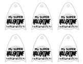 Avengers Super Hero Lollipop Valentine's Day Template