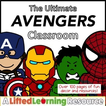 Classroom Decor: Avengers / Superhero