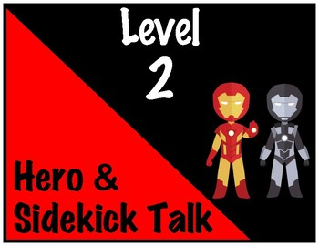 Avengers Superhero Voice Level Chart