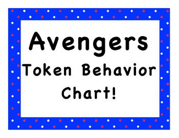 Avengers Token Behavior Chart!