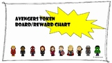 Avengers Token Board/Visual Reward Chart