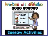 Aventura del alfabeto para Seesaw - Spanish Alphabet Adven