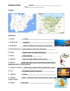 Aventuras Vascas - Participation Sheets - Episodes 1-5