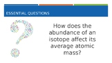 Average Atomic Mass: Calculating