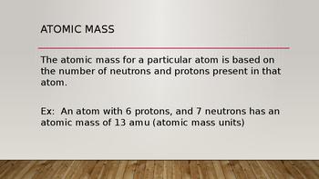 Average Atomic Mass Presentation
