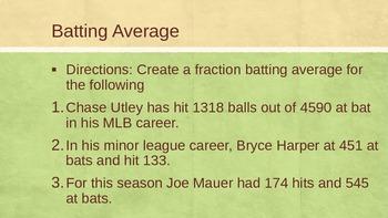 Average & Fractions