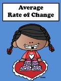 Average Rate of Change