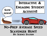 Average Speed Scavenger Hunt