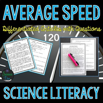 Average Speed - Science Literacy Article