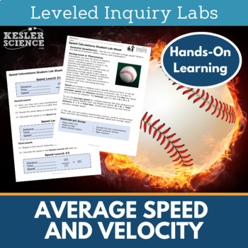 Average Speed and Velocity Inquiry Labs