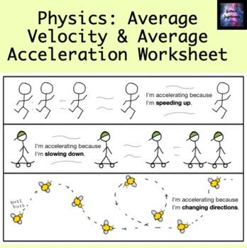 Average Velocity and Average Acceleration