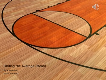 Average or Mean (with audio and visual)