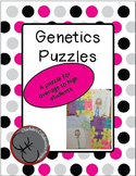 Average to High Genetics Puzzles (Punnett Squares)