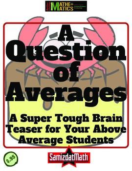 Average Brain Teaser: What's the Average Salary?