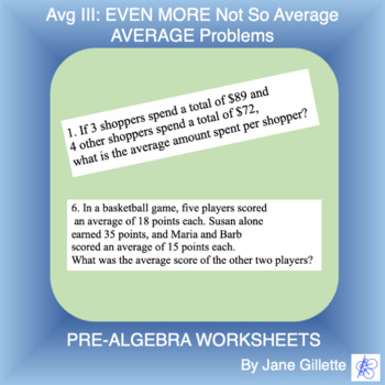 Averages III