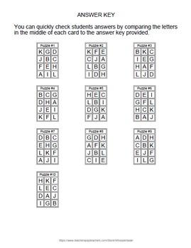 Averages Puzzles