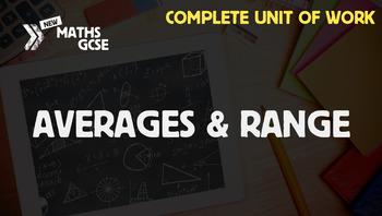 Averages & Range - Complete Unit of Work
