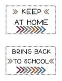 Avery 5444 Homework Folder Labels