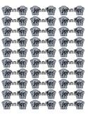Avery 8160 Labels Elephant {editable]