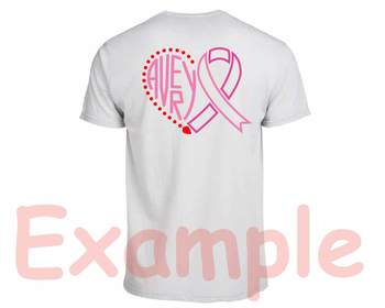 Avery Breast Cancer Ribbon Silhouette SVG clipart love faith hope -802S