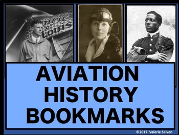 Aviation History Bookmarks