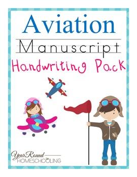 Aviation Manuscript Handwriting Pack