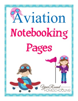 Aviation Notebooking Pages