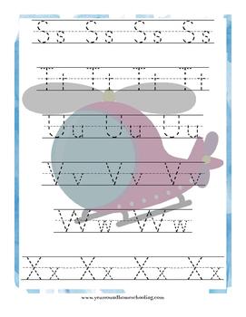 Aviation Preschool Learning Pack