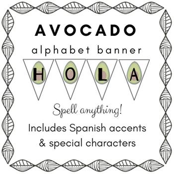 Avocado Banner