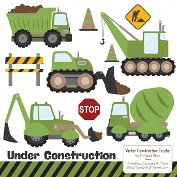 Avocado Construction Clipart & Vectors
