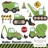Avocado Construction Clipart & Vectors