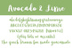 Avocado & Lime Font for Commercial Use
