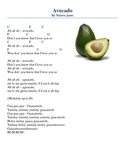 Avocado (Nutrition Education Song)