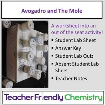 Chemistry Activity: Avogadro and The Mole