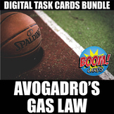 Avogadro's Gas Law Boom Cards   Distance Learning   Self-Grading