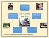 "Avoid Summer ""Brain Drain"";  An informational handout for parents"